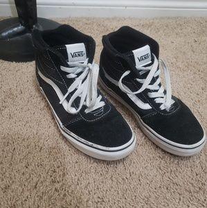 Youth Van's hi-top sneakers